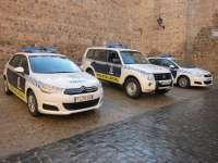 La Policía Local de Toledo aumenta a 36 vehículos su parque móvil con la incorporación de tres nuevos coches