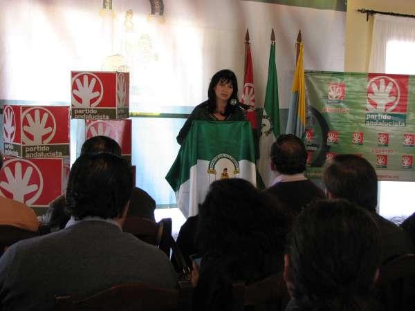 González (PA), convencida de que su partido estará de nuevo en el Parlamento andaluz al ser
