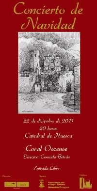 La Catedral de Huesca acoge el Concierto de Navidad del Campus de la ciudad oscense