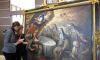 El IVACOR concluye la restauración de 'El milagro de los panes de Santa Clara' de Paolo di Matheis