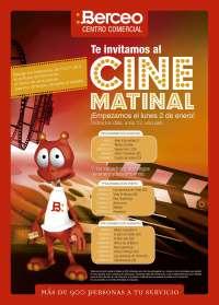 CC Berceo inicia este lunes un ciclo de cine matinal familiar gratuito y con estrenos recientes