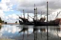 El Muelle de las Carabelas de La Rábida acaba el año 2011 con más visitas que en 2010, unas 200.000