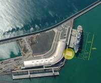 Comienza la obra de ampliación del atraque sur del puerto de Málaga