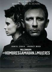 Millennium: Los hombres que no amaban a las mujeres (2011) - Cartel