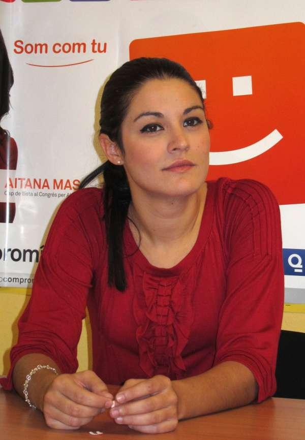 Compromís anima a los alicantinos a dar su apoyo a Mireia Mollà en el juicio contra Enrique Ortiz