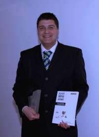 El abulense David Sánchez Sáez, Premio Nacional de Mecenazgo Grupo Vértice para Autores: Innova y crea en la Formación