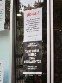 La Comunitat, una de las nueve regiones que no podrían liquidar su deuda con las farmacias en 2012