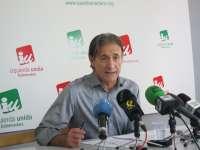 IU Extremadura considera que los datos constatan