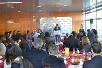 El consejero Aliaga informa a los empresarios de Walqa de las líneas de su departamento para esta legislatura