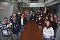 16 parados comienzan a trabajar recuperando la Cantera de Bilbao y digitalizando el archivo municipal