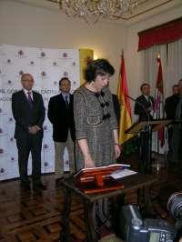 Pilar Sanz ofrece esfuerzo constante, cercanía y compromiso con los segovianos como nueva subdelegada del Gobierno