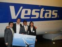 Un estudiante del máster en Logística de Zaragoza gana el premio internacional 'Vestas Winnovation Challenge'