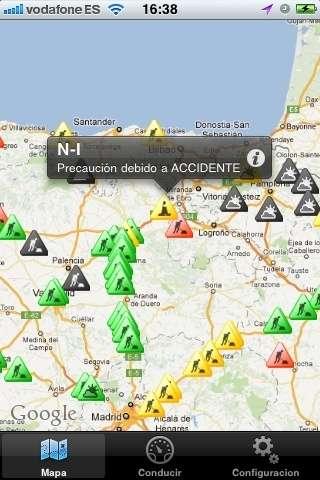 Ingartek lanza la aplicación I-Radar para mostrar la ubicación de radares y el estado de las carreteras
