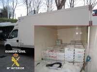 Intervenidos en Bueu (Pontevedra) 546 kilos de rapante de talla inferior a la legal y 117 de caballa en veda