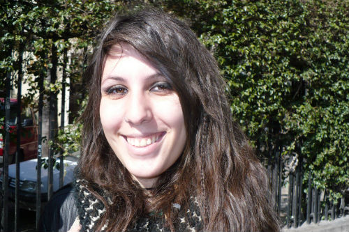 Anna, estudiante valenciana de 18 años.