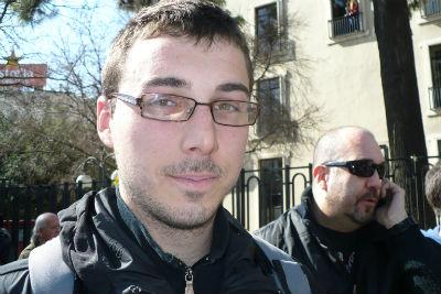 Carlos Naranjo, estudiante valenciano.