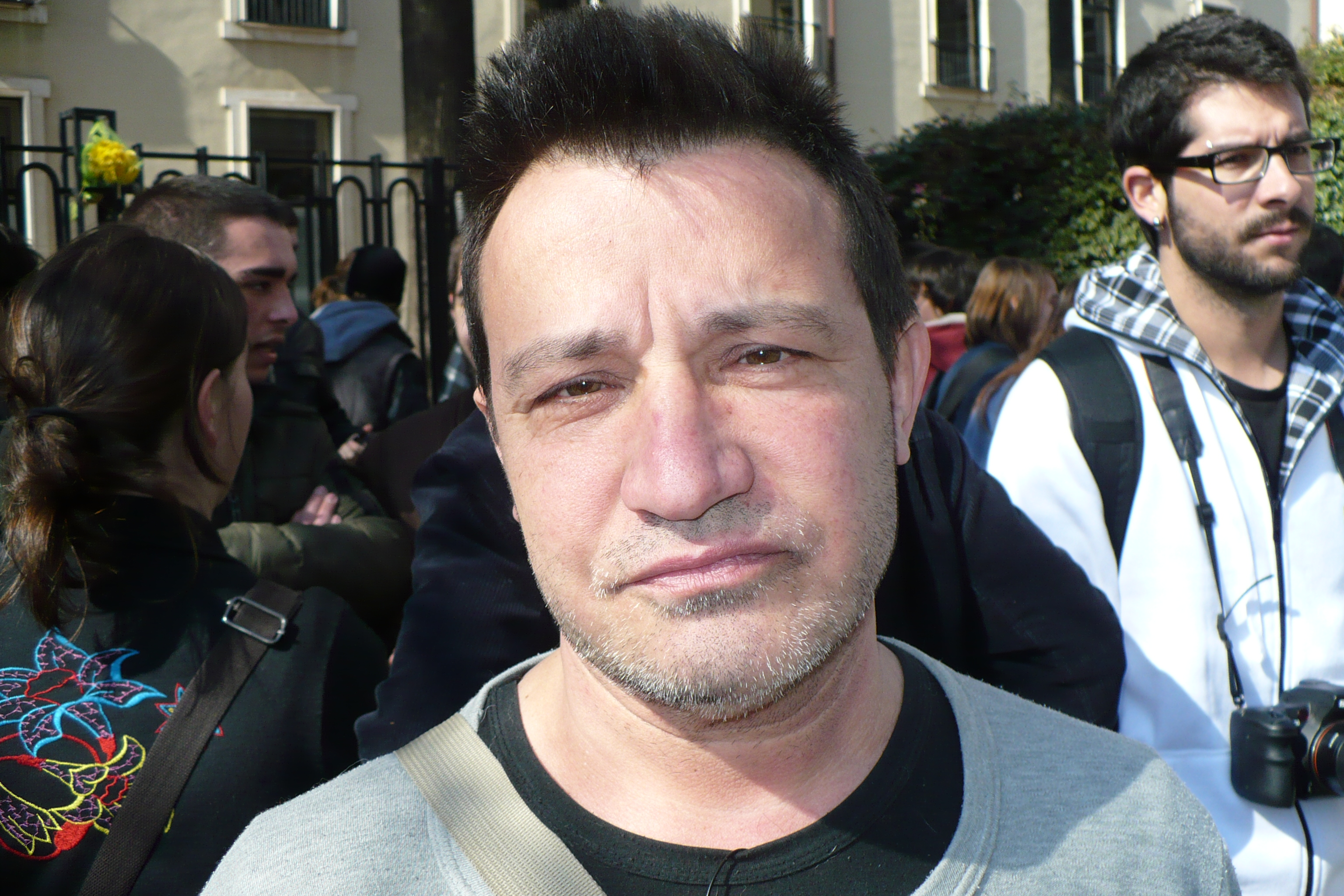 Juan, ciudadano valenciano de 58 años.