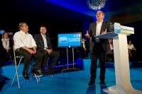 Monago pide el voto para el PP andaluz con el fin de