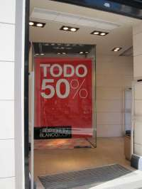El comercio gallego cumple las previsiones y factura 80 millones de euros en rebajas