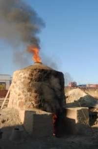 Hacen en Bailén un horno cerámico con iguales características a los que existían hace más de 2.000 años