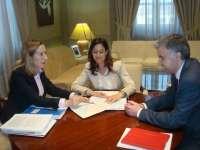 Fomento se compromete con la alcaldesa de Ciudad Real a estudiar la viabilidad de la autovía A-41 y el polígono de SEPES