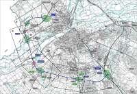 El estudio informativo de la Ronda Sur de Badajoz contempla como mejor alternativa el proyecto de 16,5 kilómetros