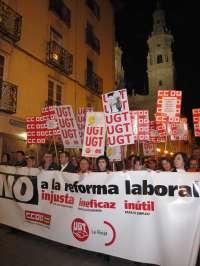 CCOO y UGT celebran este domingo manifestaciones en 60 ciudades, entre ellas Gijón