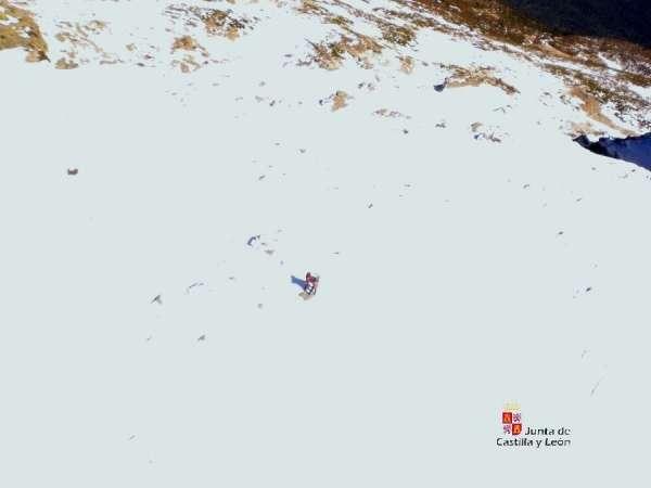 Tres montañeros rescatados en San Ildefonso (Segovia) tras quedar bloqueados por el hielo