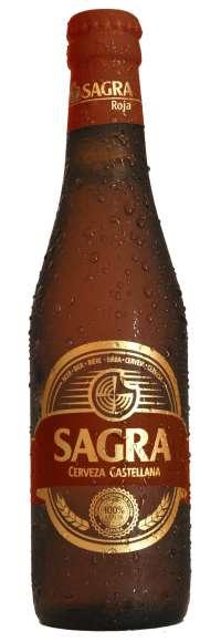 La cerveza castellana 'Sagra' celebra su primer aniversario con el lanzamiento de su nueva 'Sagra Roja'