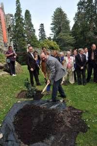 El jardín del castillo de Soutomaior se convierte en el único de España con categoría de excelencia internacional