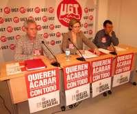 UGT avisa que puede haber trabajadores que no cumplan los servicios mínimos del transporte escolar