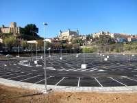 Inaugurado el parking disuasorio de Azarquiel, en Toledo, que cuenta con 540 plazas disponibles a partir de este viernes