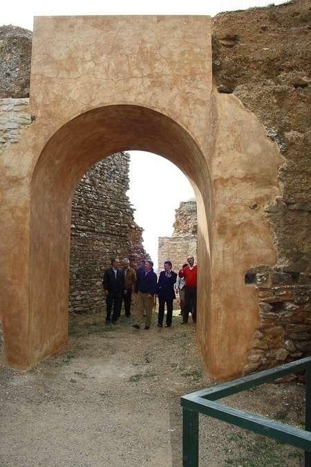 Constantina reabre los accesos al castillo, tras el desplome de la Torre del Homenaje