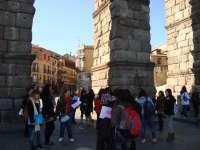 Segovia sumar� puntos de informaci�n tur�stica y ampliar� el programa de visitas guiadas desde hoy
