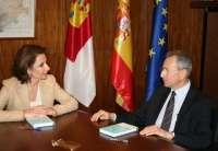 El presidente de la Confederación Hidrográfica del Segura se reúne con el Gobierno de Castilla-La Mancha