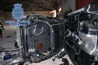 La Policía desarticula un grupo que robaba y desguazaba coches para venderlos por piezas en Marruecos