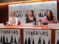 Las Bernardas despiden este fin de semana en el Zorrilla de Valladolid 'Troyanas', sobre la crueldad de la guerra