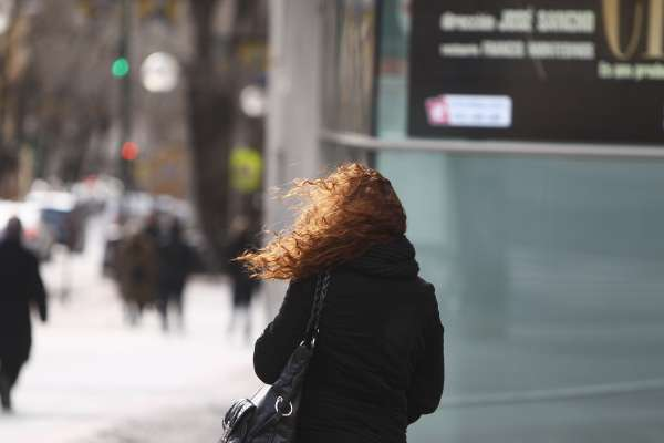 Alerta amarilla por vientos en toda la Comunidad este domingo