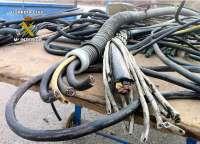 Tres detenidos por robar mil metros de cable de cobre en trenes de Tarragona