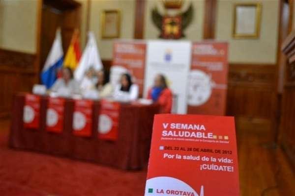 La Orotava (Tenerife) dedica la última semana de abril a potenciar los hábitos saludables en la población