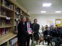 Emilio del Río ha participado en la presentación del libro sobre el murillense Fray Juan Ramírez de Arellano