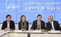 Rajoy y los 'barones' del PP establecen un sistema de prioridades para poder garantizar los servicios básicos