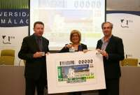 La ONCE dedica el cupón de este sábado a la Universidad de Málaga