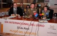 El Ayuntamiento, el Museo del Ejército y los Libreros colaboran en la Feria del Libro 2012 de Toledo