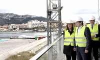 Císcar destaca que las instalaciones del puerto de Dénia son un