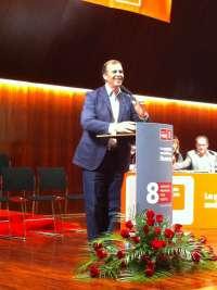 Antonio Cosculluela, nuevo secretario de la Federación Altoaragonesa del PSOE con el 94% de los votos