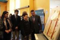 El MARQ restaura y exhibe una pintura mural romana del Museo Arqueológico de Lorca