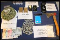 Detenido por vender droga en Pamplona tras verificar la Policía una denuncia a través de internet