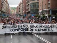 Miles de personas denuncian en Bilbao la doctrina Parot y acusan al Estado de querer