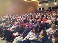 El 75,5% de los delegados respalda la gestión de Óscar López, frente al 9,6% que votó en contra